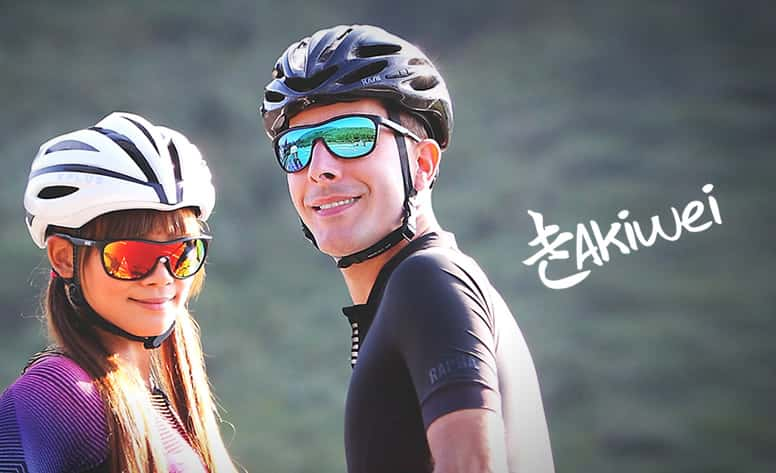 Akiwei 運動太陽眼鏡 網頁設計